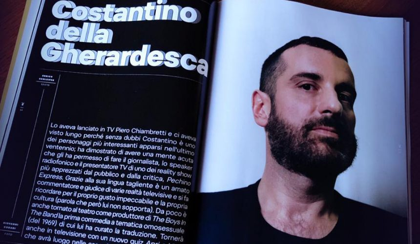 Costantino per The Boys in the Band su Playboy